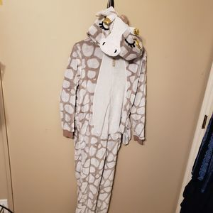 Giraffe Onesie Onezie Costume Dress Up